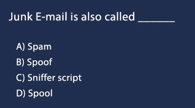 junk email is also called